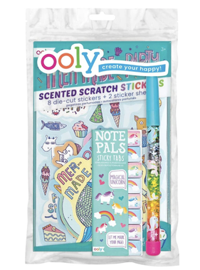 Ooly 91-100 Unicorn & Mermaid Party Happy Pack