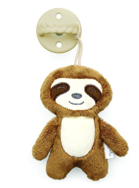 Itzy Ritzy PPAL8317 Sloth Sweetie Pal Pacifier & Stuffed Animal