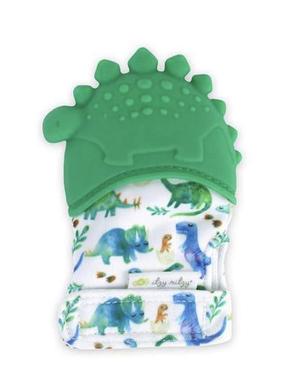 Itzy Ritzy MITT8318 Itzy Mitt Silicone Teething Mitt: Dinosaur
