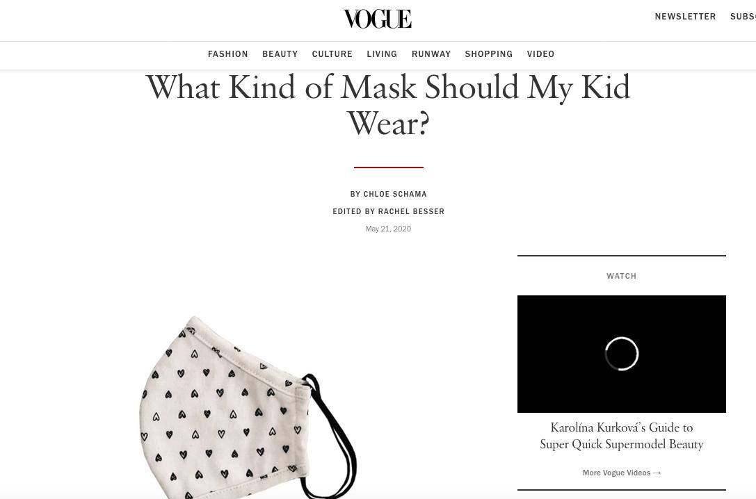 Face Mask Kids Face Mask Mermaid Peony Pink