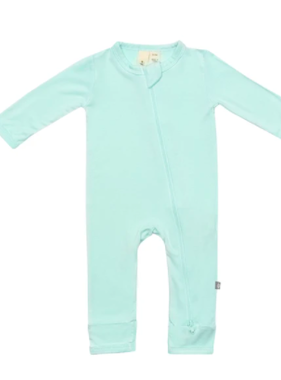Kyte Baby Zippered Romper Sea Mist