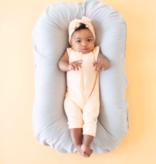 Kyte Baby Zipper Sleeveless Romper Papaya
