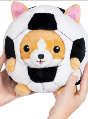 "Squishable Undercover Corgi in Soccer Ball (7"")"