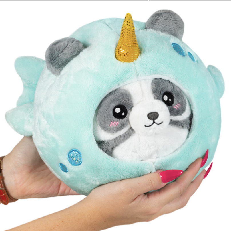 "Squishable Undercover Panda in Narwhal (7"")"