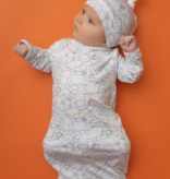 Angel Dear Sea Life Gown/Hat 0-3 Months