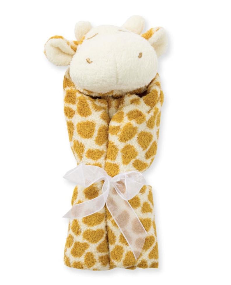 Angel Dear Giraffe Blankie Tan 1121