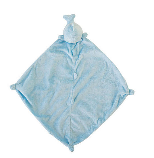 Angel Dear 1183 Blue Whale Blankie
