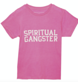 Spiritual Gangster SG Varsity Kids Tee Cotton Candy