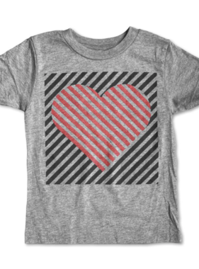 Rivet Apparel Heart Lines Tee