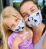 Face Mask Kids Face Mask Ladybug peony Pink