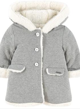 Mayoral 2436 75 Wool Coat, Steel
