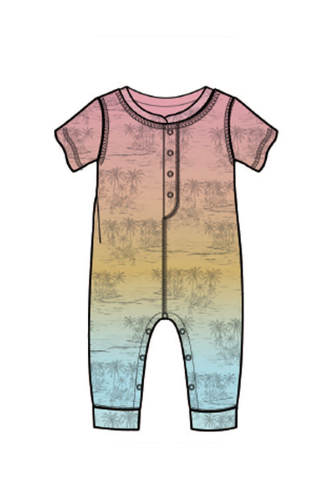 PJ Salvage Kids Romper PGMT PLS, Multi