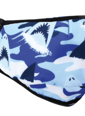 Face Mask ISCR KIDS Face Mask Camo Shark
