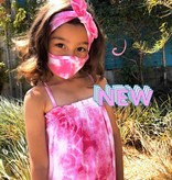 Face Mask PKP Tie Dye Face Mask PINK