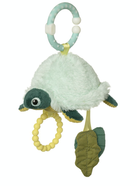 Manhattan Toy 158760 Theo Turtle Travel Toy
