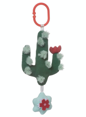 Manhattan Toy 216370 Cactus Garden Rock and Rattle