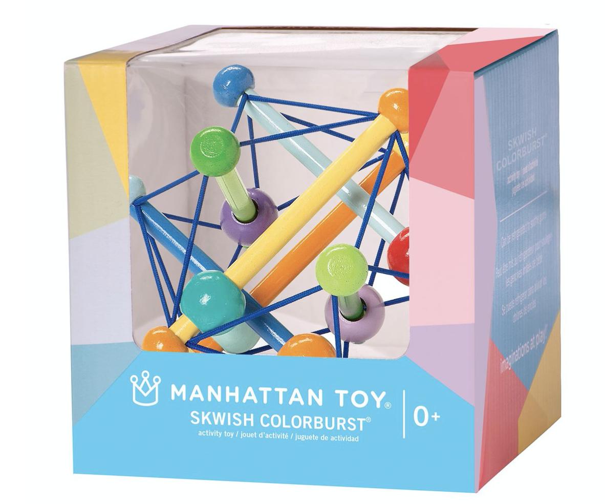Manhattan Toy 203645 Skwish Color Burst Boxed