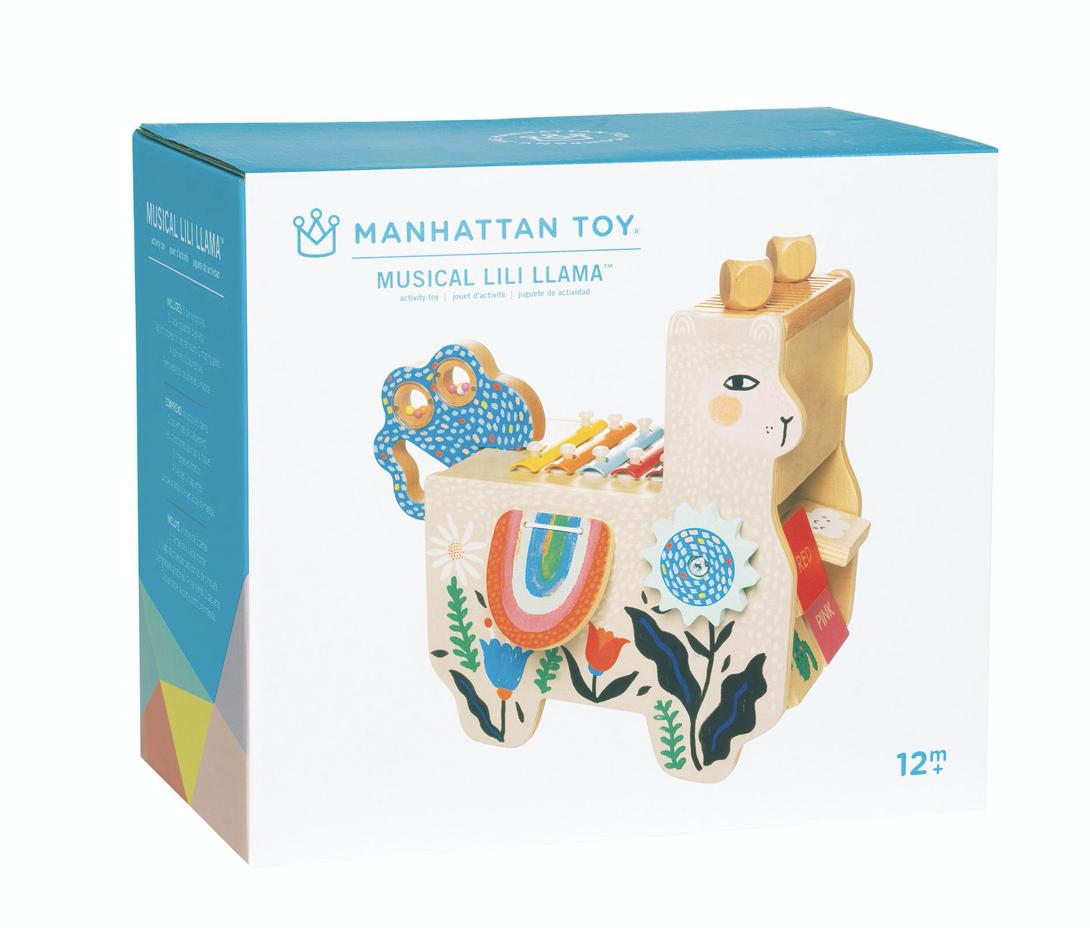 Manhattan Toy 217120 Musical Lili Llama