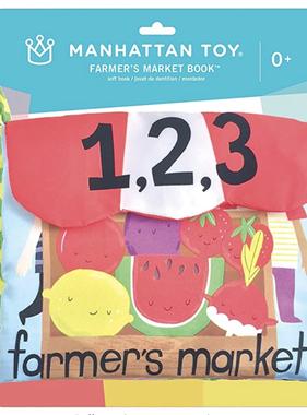 Manhattan Toy 214390 Farmer's Market Book