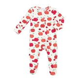 Angel Dear 651F0AP Apple Orchard Zipper Footie
