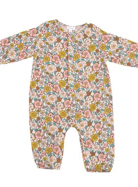 Angel Dear 195F0FLC Flower Child Romper Pink Multi