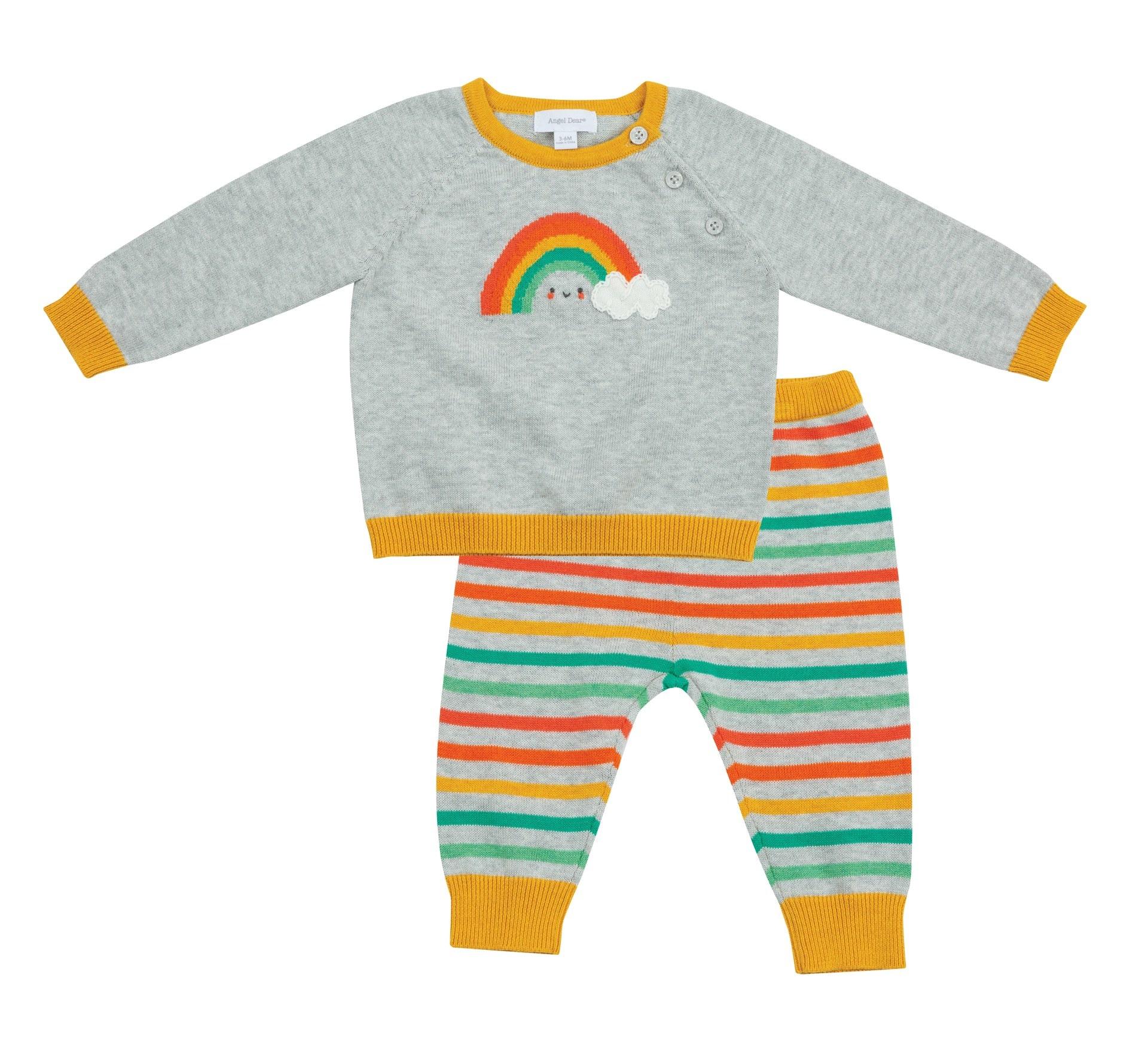 Angel Dear 712F0HRC Vintage Sweater Set