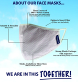 Face Mask AE-Youth (8 & Up) Face Mask 2pack, Leopard/Lilac Tie Dye