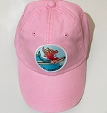 Cam & Co Patch Dad Cap Mermaid Lt Pink, 18 months - 5yrs