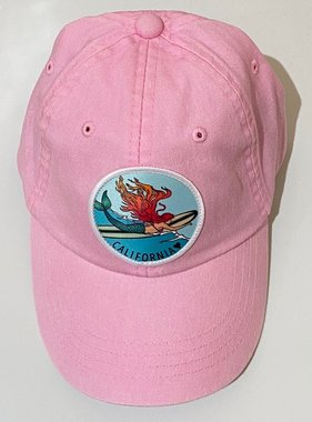 Cam & Co Patch Dad Cap Mermaid Lt Pink, 18 months - 5yrs