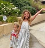 Mimi & Maggie 80386 Post Stripe Dress