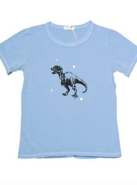 Cozii S/S Dino Tee, Blue