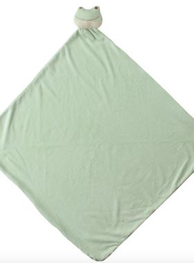 Angel Dear 2001 Froggy Nap Blanket
