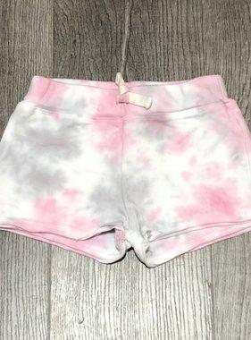 Cozii Tie Dye Shorts w/ Back Pocket, Pink