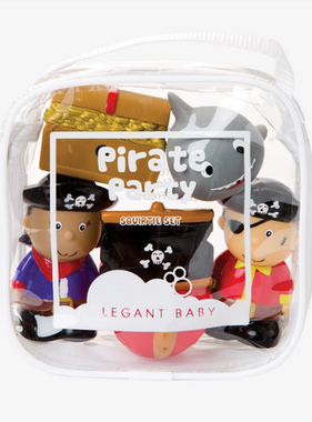 Elegant Baby 40596 Pirate Party Squirties