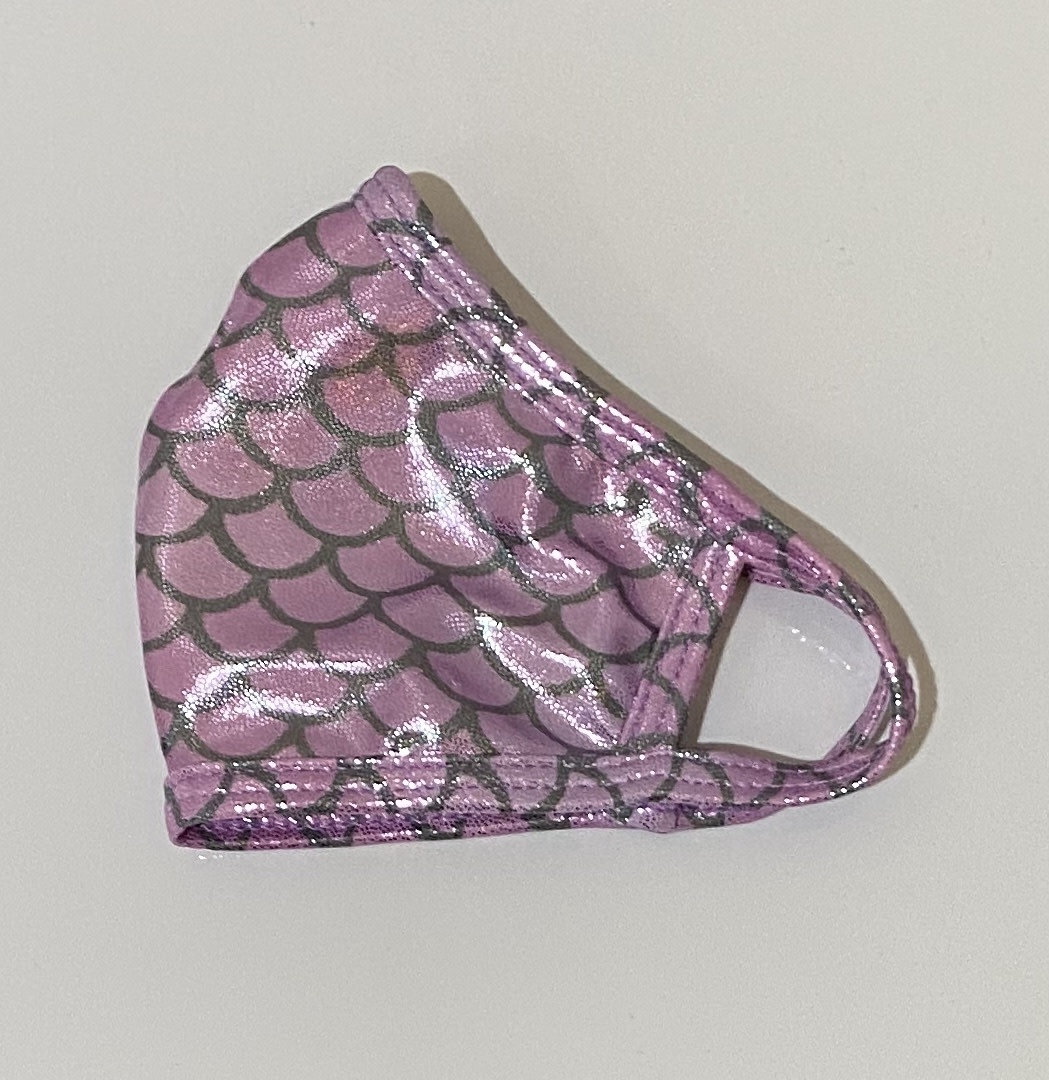 Face Mask CRZ Face Mask Pink Mermaid