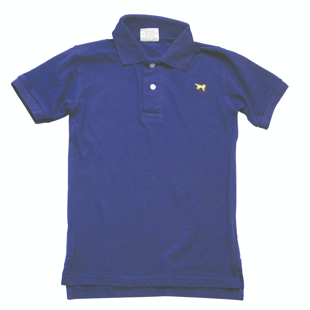 Wes And Willy JT283 Classic SS Pique Polo Midnight
