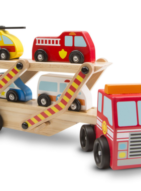 Melissa & Doug Emergency Vehicle Carrier 4610