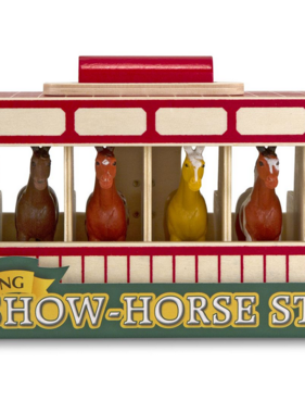 Melissa & Doug 3744 Take-Along Show-Horse Stable