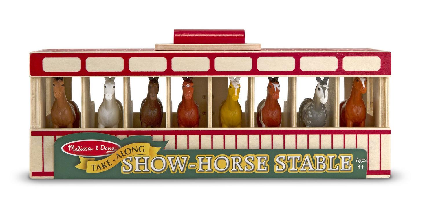 Melissa & Doug 3744 Take-Along Show-Horse Stable
