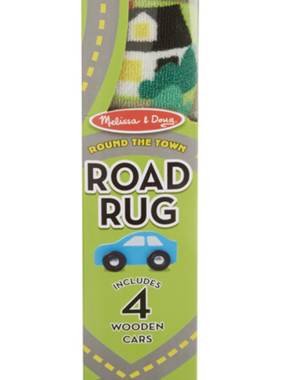 Melissa & Doug Round the Town Road Rug 9400