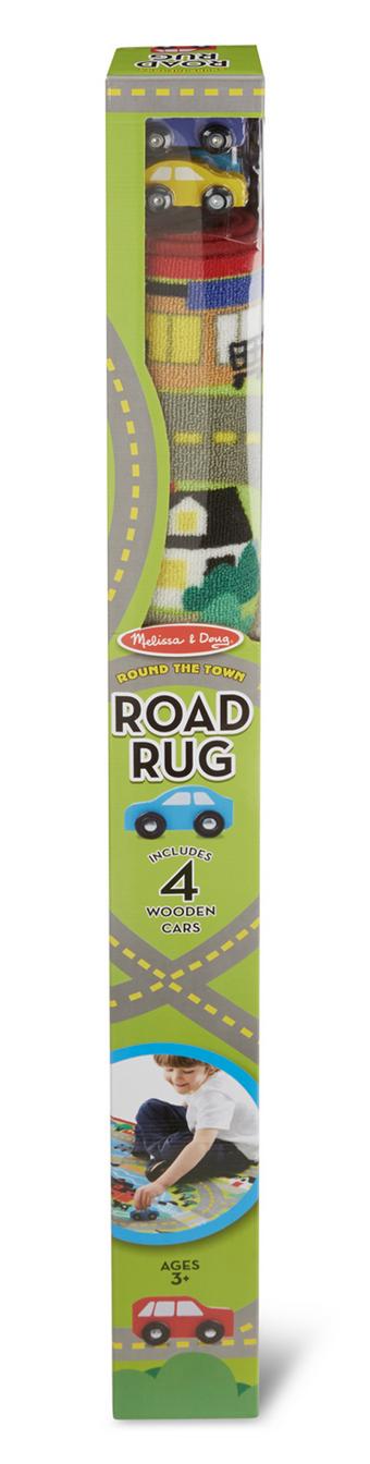 Melissa & Doug Round the Town Road Rug 9400