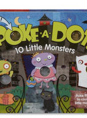 Melissa & Doug POKE a DOT 10 Little Monsters 31350