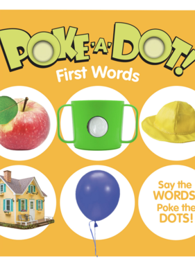 Melissa & Doug Small Poke A Dot: First Words