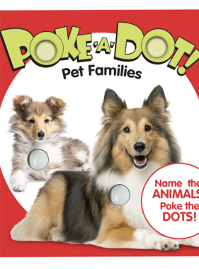 Melissa & Doug Small Poke A Dot: Pet Families 31352