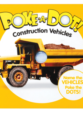 Melissa & Doug Small Poke A Dot: Construction Vehicles 31533