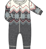 PJ Salvage Kids RVKFFRMPJ Romper Fair Isle