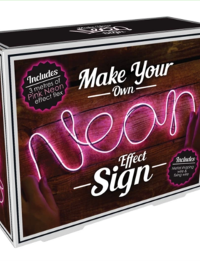 Iscream 865-021 Neon Effect Pink Light