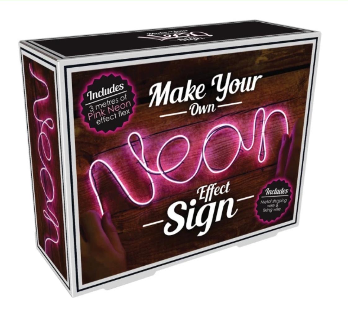 Iscream 865-021 Neon Effect Pink Light