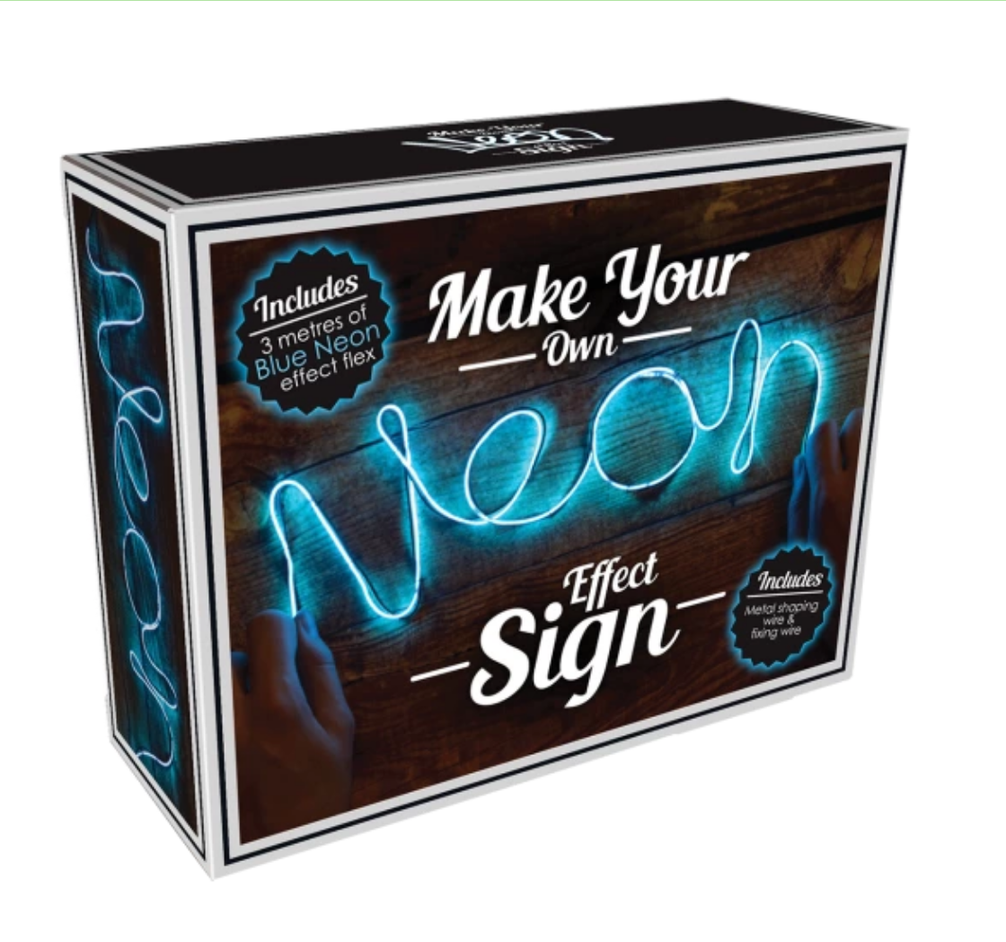 Iscream 865-020 Neon Effect Blue Light