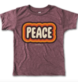 Rivet Apparel Peace Tee, Purple